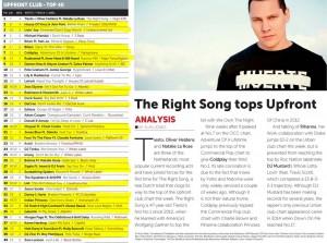 Music Week Upfront Club Chart 22-02-16