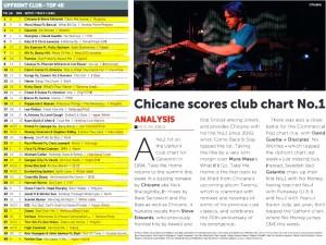 Music Week Upfront Club Chart 23-05-16