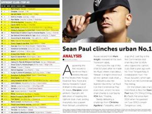 Music Week Upfront Club Chart 17-10-16